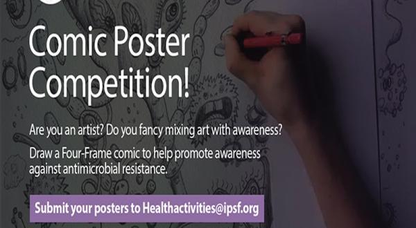 AMR Four Frame Comic Poster Challenge