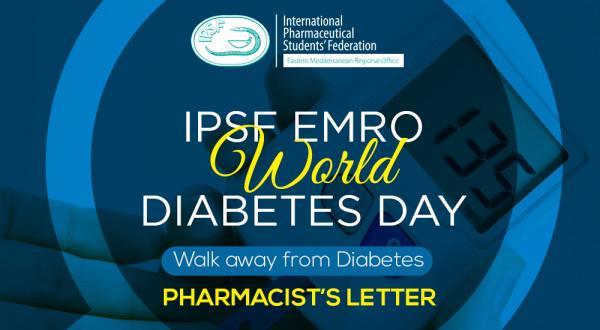 [IPSF EMRO] Pharmacist's Letter 1st Edition - World Diabetes Day