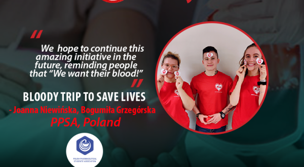 Bloody trip to save lives