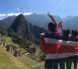 Costa Rica with APEFYB, Perú.