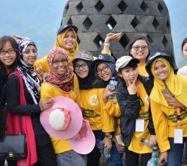 Visit Borobudur, SEP 2016