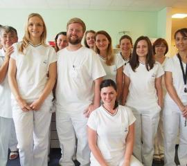 Internship in Military University Hospital in Prague