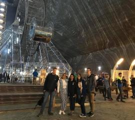 Trip to the Turda Salt Mine near Cluj-Napoca