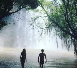 The lovely Boti falls