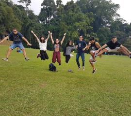 Great time at Bogor Botanical Garden