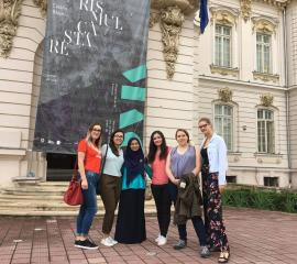 Visiting the Art Museum in Craiova