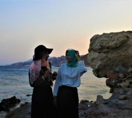 Don't miss the sunset on the Mediterranean sea <3