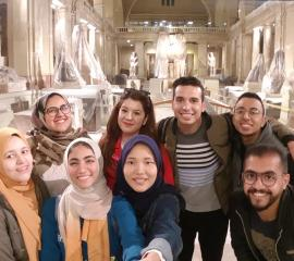 Egyptian Museum is never a miss specially with our SEP team ;)