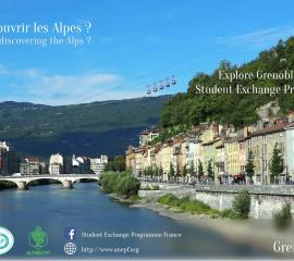 GRENOBLE - Feeling like discovering the Alps?