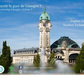 LIMOGES - Feeling like discovering Limoges station?