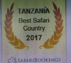 Tanzania, Best Safari Country in 2017,