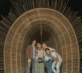 Visiting an Art exhibition in Yogyakarta, Summer SEP2019