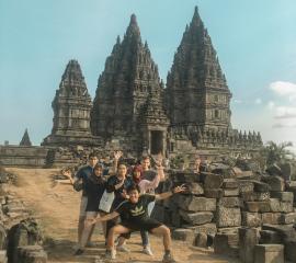 @ Prambanan Temple, Summer SEP 3019