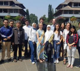 Summer SEP students in ITB