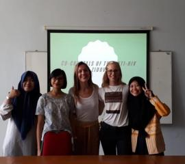 SEP students and colleagues from ITB