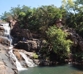 Siby waterfall